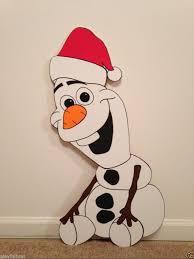 olaf frozen christmas yard art decoration 2 frozen christmas