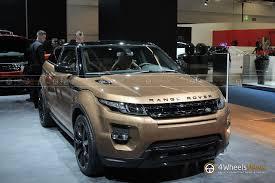 evoque land rover 2014 2013 iaa 2014 range rover evoque shows its zanzibar bronze color