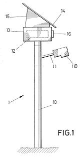 Solar Street Light Circuit Diagram by Patent Ep1367319a2 Solar Powered Public Lighting Street Light