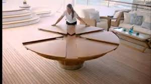 expandable round dining tables brown polished chestnut
