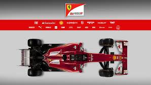 vehicle top view the ferrari f14 t f1 car in detail f1 fansite com