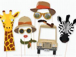 safari binoculars clipart safari party photo booth props safari birthday foto booth