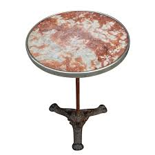Large Bistro Table Marble Top Bistro Table From France From Relic On Ruby Lane