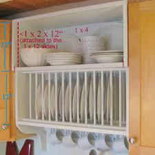 kitchen dish rack ideas dish rack cabinet strikingly idea cabinet design