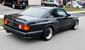 mercedes sec 560 amg mercedes 560 sec 6 0 amg is a box flared bad ss from the 80s