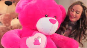valentines big teddy big hot pink s teddy by teddy chacha big
