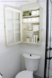 Over The Toilet Bathroom Storage by Remodelaholic Bathroom Storage Cabinet Using An Old Window