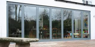 Bifold Patio Door by Slimline Aluminium Frame Bifolds Sunseeker Doors Ltd Bi