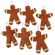 primitive felt gingerbread ornaments fixin s and fillers