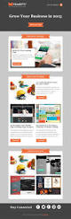 free email template miks newsletter psd html omahpsd