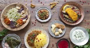 la cuisine iranienne est un mélange de toutes les cultures
