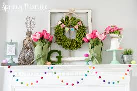 easter mantel decorations craftaholics anonymous mantle