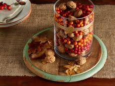 thanksgiving centerpieces and decorating ideas food network