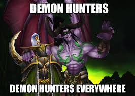 World Of Warcraft Memes - demon hunters everywhere world of warcraft know your meme
