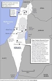 Nuclear Bomb Map Israel Nuclear Weapons لماذا غزة Why Gaza