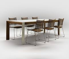 Modern Contemporary Dining Table Corian Kitchen Table