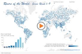 worlds rivers map mapping the world s rivers dataremixed