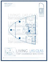 Unit Floor Plans by Icon Las Olas Floor Plans Icon Las Olas