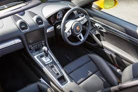 porsche boxster 2017 interior 2017 porsche 718 boxster s review faultless fantastic and very fast