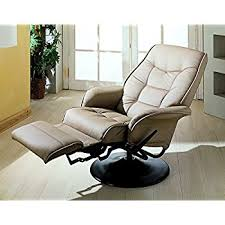 swivel recliner amazon com coaster home furnishings modern contemporary upholstered