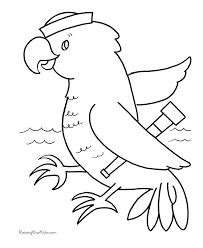 preschool coloring pages birdpaperairplane
