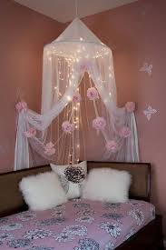 diy canopy bed with lights best 25 bed canopy lights ideas on