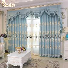 Valances For Living Room Windows by Blue Window Valance Promotion Shop For Promotional Blue Window