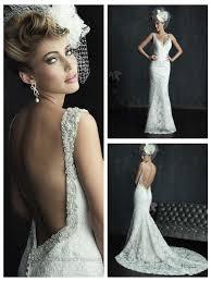 low back wedding dresses beaded straps plunging neckline wedding dresses with low back