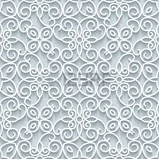 cutout paper lace texture tulle ornament seamless pattern