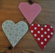 Fabric Heart Decorations Decoration Gembelina