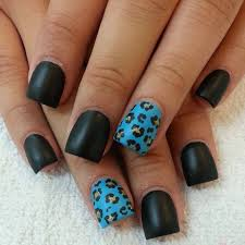 black and blue nail art designsjpg black and blue nail designs