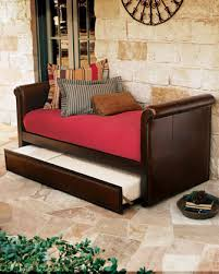 Leather Daybed With Trundle What Is The Price Of The Leather Trundle Daybed
