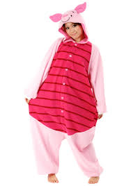 girls halloween pajamas piglet pajama costume