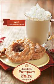introducing our new pumpkin spice latte it s the flavor