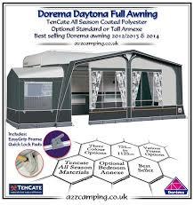 Dorema Awning Spares 2018 Dorema Daytona Caravan Full Awning Dorema Full Awning