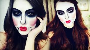 halloween makeup cute ventriloquist doll halloween makeup tutorial youtube