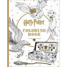 harry potter coloring book walmart