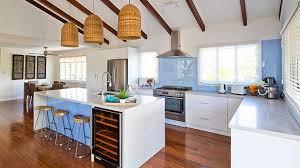 The Coastal Kitchen - feature friday house rules winners adam u0026 lisa glamour coastal