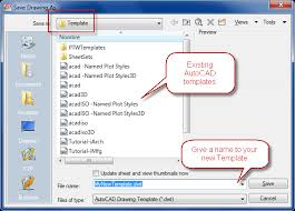 5 simple steps to create autocad templates cad software tutorials