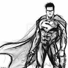 norby ela superman sketch