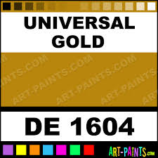 universal gold engine enamel paints de 1604 universal gold