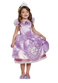Toddler Sofia The First Motion Activated Light Up Costume Girls