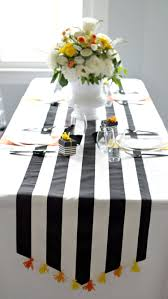 make your own table runner how to make a tassel table runner parties for pennies