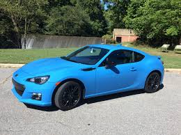 subaru coupe 2015 subaru brz series hyperblue a colorful small fun to drive car