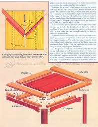 coffee table plans u2022 woodarchivist