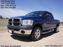 1500 dodge ram used for sale 2008 dodge ram 1500 truck cab trx4 4x4 just 50k