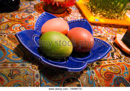 Iranian New Year Table Decoration by Haft Sin Stock Photos U0026 Haft Sin Stock Images Alamy