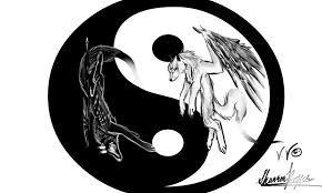 wolves of yin and yang by okami moonspiritwolf on deviantart