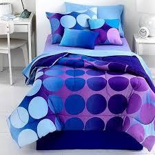 Twin Comforter J Franco Studio 25 Dot Allure 3 Piece Twin Comforter Set Purple Multi