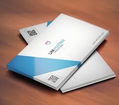 Simple Business Cards Templates Free Simple Clean U0026 Creative Business Card Template Psd Titanui